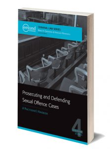 prosecuting and defending sexual offences textbook